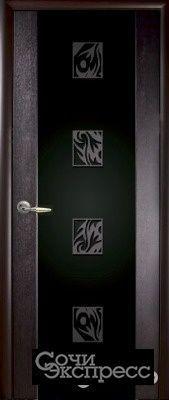 Межкомнатная дверь мария-3 с рис.25 венге