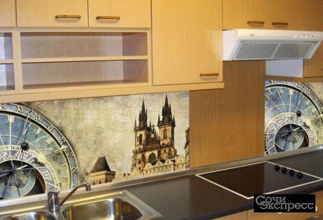 Кухонный фартук 695х2070х3мм прага