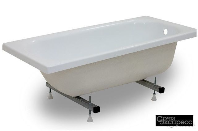 Ванна акриловая 170х70 ультра на ножках