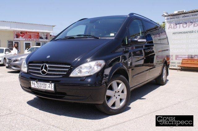 Mercedes-Benz Viano 3.5AT, 2008, минивэн