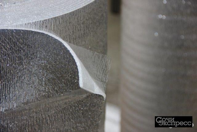 Подложка отражающая фольгированная лф 5мм 36м2