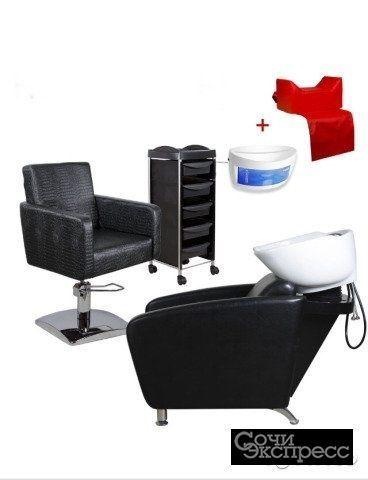 Комплект парикмахерской мебели классик