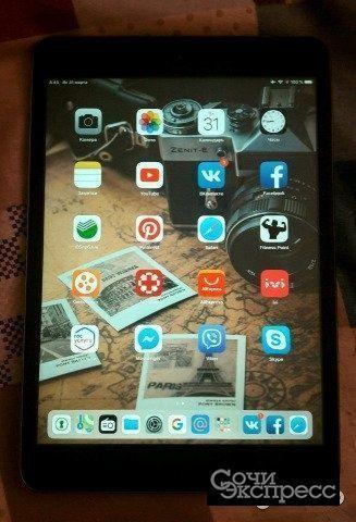 iPad mini 2 retin дисплей