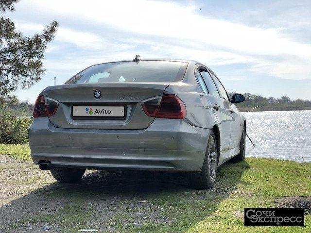 BMW 3 серия 2.0AT, 2007, седан