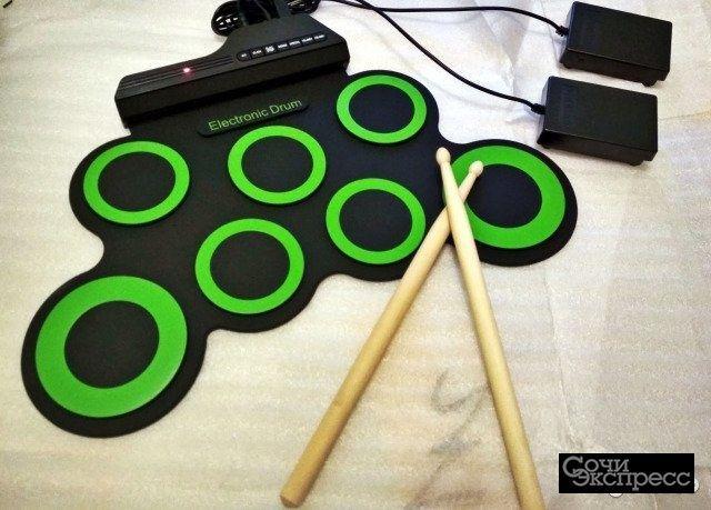 Новый Гибкий Барабан Digital Drum