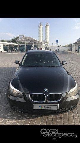 BMW 5 серия 2.0AT, 2008, седан