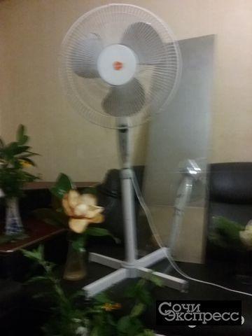 Вентилятор напольный 3х скоростной новый