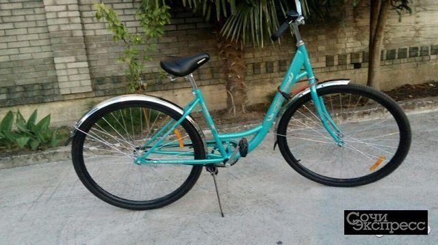 Велосипед прогулочный новый