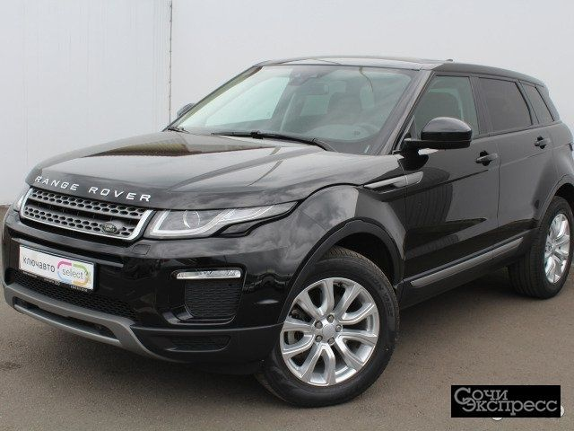 Land Rover Range Rover Evoque 2.0 AT, 2017, внедорожник