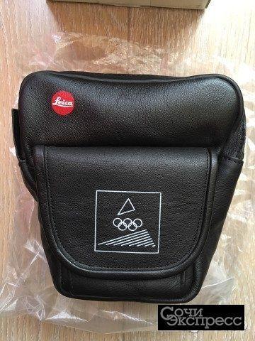 Кожаная фотосумка Leica