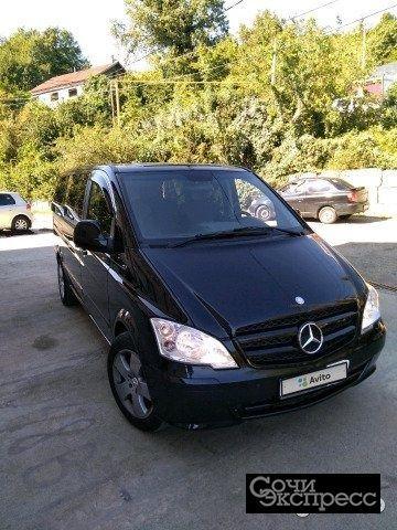 Mercedes-Benz Vito 2.1AT, 2008, минивэн