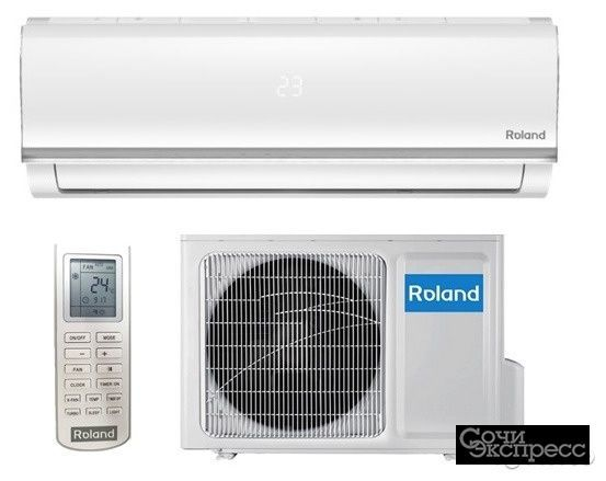 Сплит-система Roland CHU-09HSS010/N2 установка