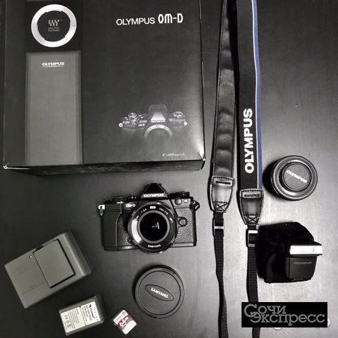 Фотоаппарат со сменной оптикой Olympus OM-D E-M5 M