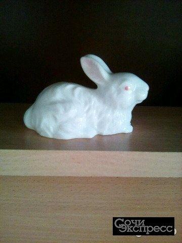 Винтажный фарфоровый заяц