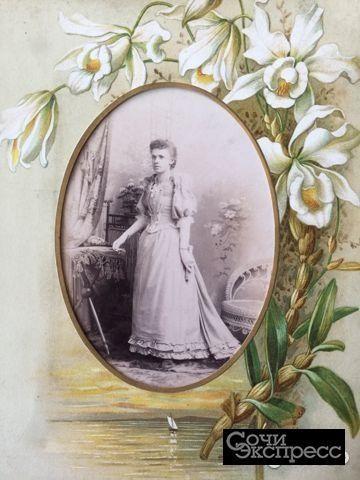 Старинные фотографии в рамочках