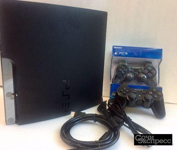 PS3 прошитая два джойстика