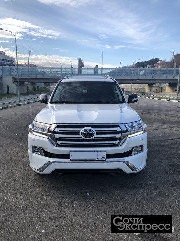 Toyota Land Cruiser 4.5AT, 2016, внедорожник
