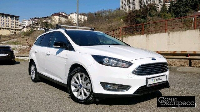 Ford Focus 1.5 AT, 2017, универсал