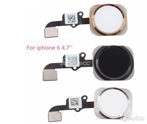 Шлейф с кнопкой домой iPhone 6