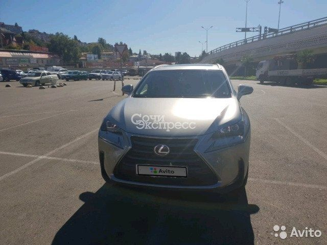 Lexus NX 2.0AT, 2017, внедорожник