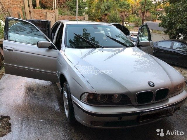 BMW 5 серия 2.5AT, 2002, седан