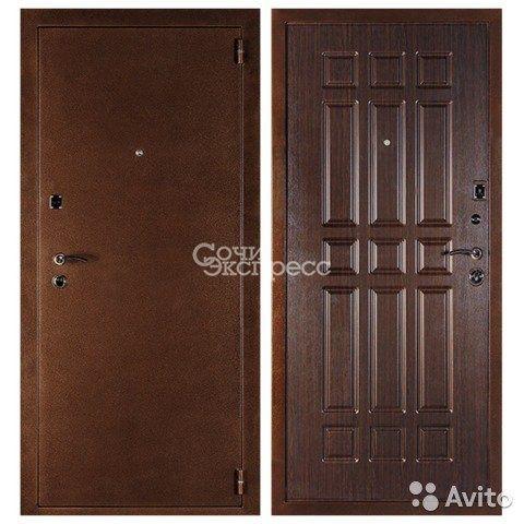Входная дверь дельта венге