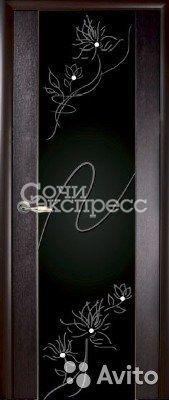 Межкомнатная дверь мария-3 с рис.19 венге