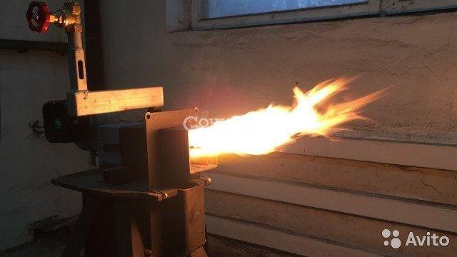Капельная горелка на отработанном масле от 5 кВт