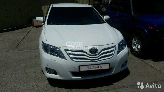 Toyota Camry 2.4AT, 2007, седан