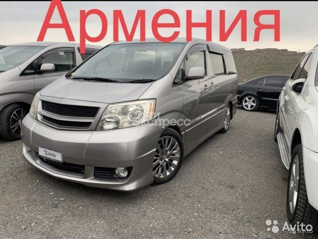 Toyota Alphard 3.0 AT, 2004, минивэн