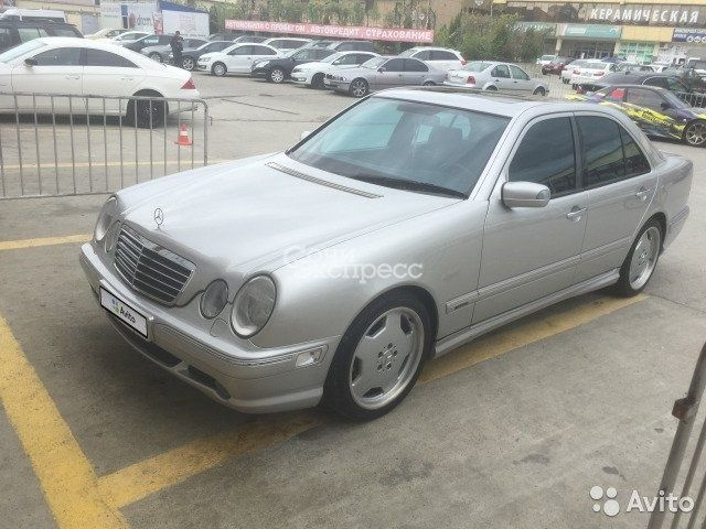 Mercedes-Benz E-класс 3.2 AT, 2000, седан