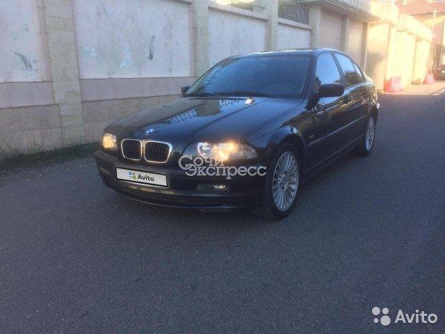BMW 3 серия 1.9МТ, 2001, седан