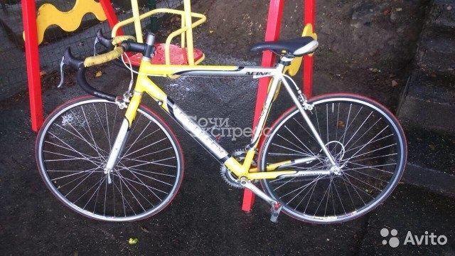 Шоссейный велосипед Leader Fox