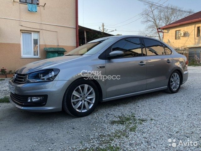 Volkswagen Polo 1.6МТ, 2018, седан
