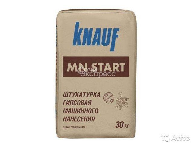 Штукатурка гипсовая Knauf мн Старт 30 кг