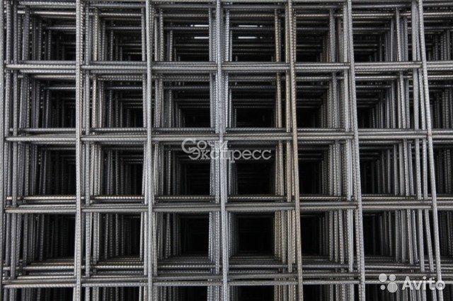 Сетка для стяжки дорожная 150x150 3 м2 4мм