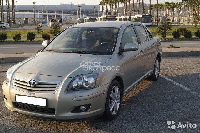 Toyota Avensis 1.8 AT, 2007, седан