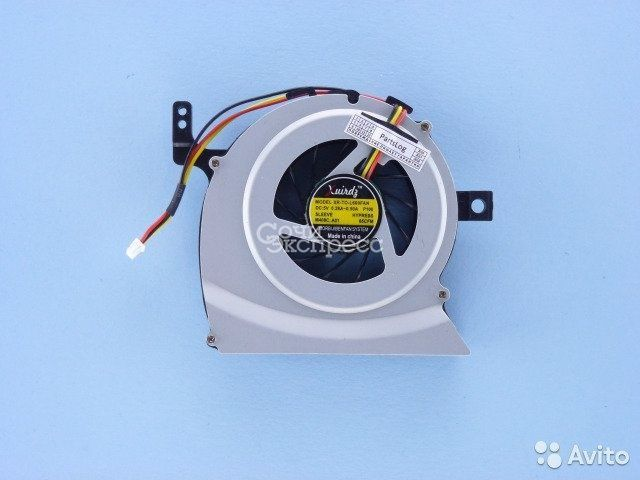 Вентилятор Toshiba L630, L640, C630, C640 3-pin