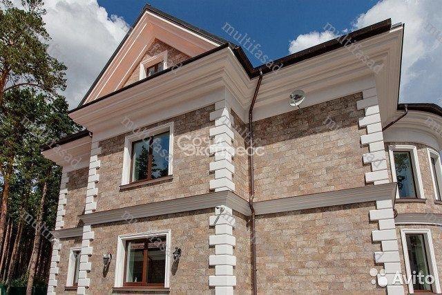 Фасадный декор. Лепнина