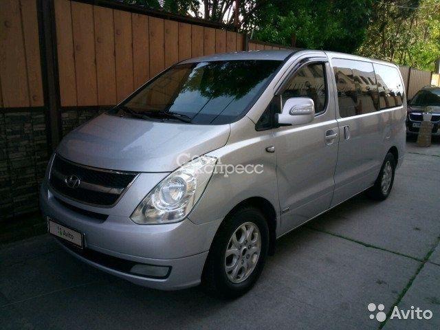 Hyundai Grand Starex 2.5AT, 2008, минивэн