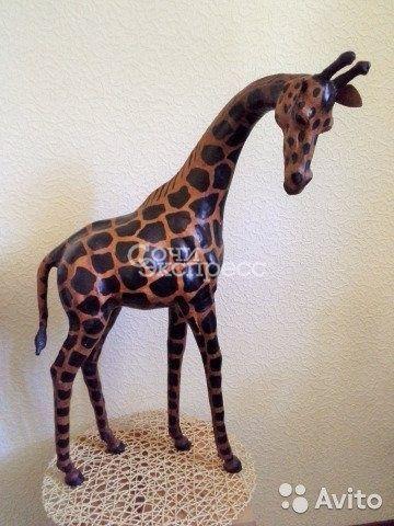 Жираф кожаный