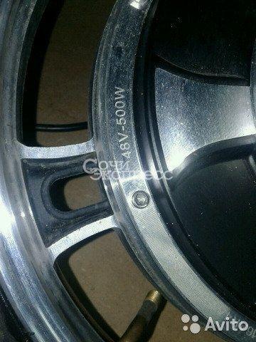 Мотор колесо 500w 48v