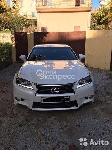 Lexus GS 3.5AT, 2015, седан