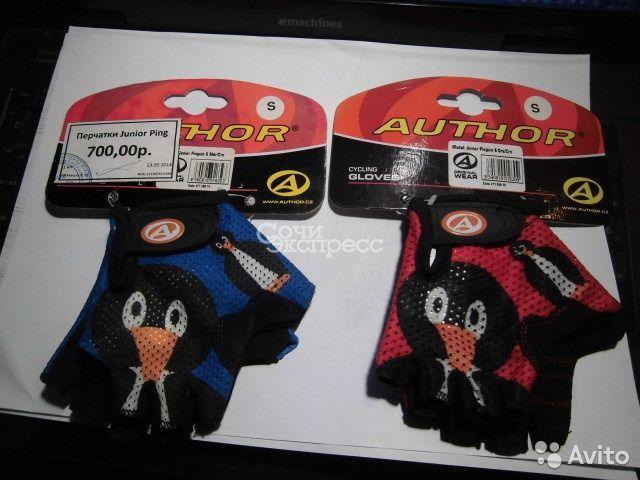 Детские велосипедные перчатки Junior Pinguin