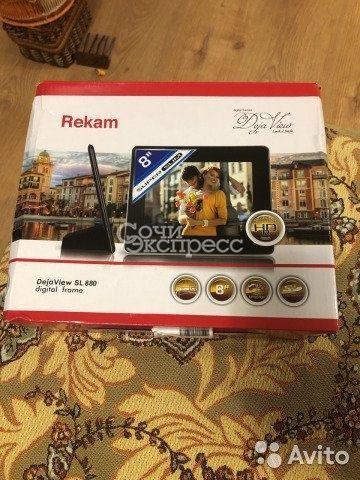 Фоторамка Rekam SL-880
