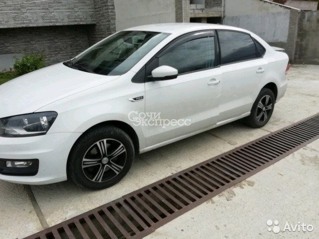 Volkswagen Polo 1.6 МТ, 2018, седан