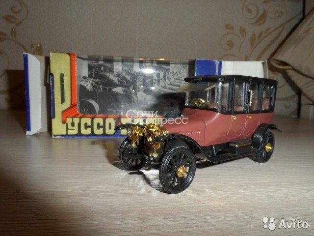 Модель ретро авто Руссо-Балт Лимузин Берлин СССР