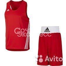 Майки и шорты для бокса adidas