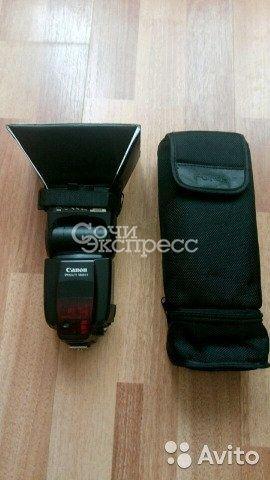 Вспышка Canon 580 ex II