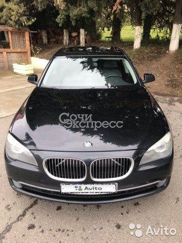 BMW 7 серия 3.0AT, 2010, седан